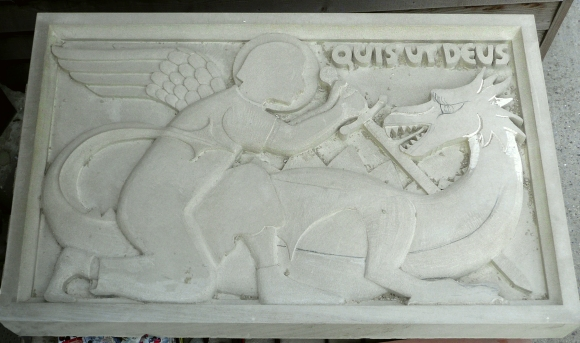 Relief carving teucer wilson s