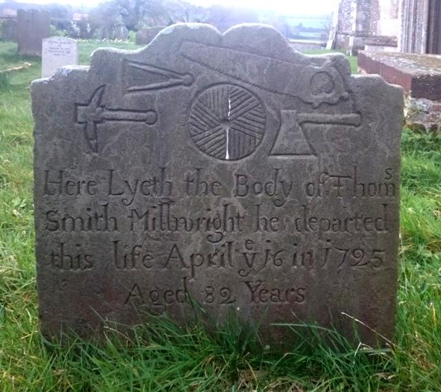 Wiveton millwright's stone